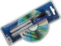 Picture of CD/DVD-Stift im 2er -Set, Farben: schwarz und blau, auf aufwendiger Blisterpackung