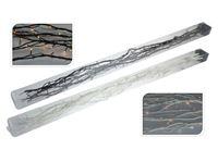 Resim 5 Zweige mit 60 LED 110 cm lang warmes weiss, braun und weiß ,220/240V für Innen, im Polybag
