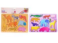 Picture of Zeichenschablonen 26,5x 18,5cm 2er Pack, verschiedene Tiere sortiert