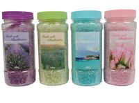 Picture of Badesalz 500 Gramm 4 Düfte sortiert, Ocean,Lavendel,Olive,Rose