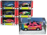 Resim Auto - Rennwagen METALL & Kunststoff ca.10cm, vielfach sortiert Schachtel 14x7x6,5 12er Display