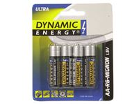 Picture of Batterien R06 / AA ultra ''Dynamic Energy'' 4er Pack, Best Before 02.2016