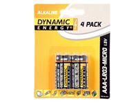 Picture of Batterien R03/ AAA ALKALINE ''Dynamic Energy'' 4er-, Pack, Best Before 02.2016