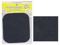 Picture of Bügel-Jeansflicken Farbe dunkelblau 9,5 x 10,5 cm, im Headerbeutel
