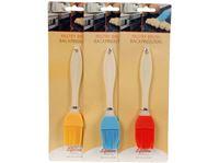 Picture of Back Streichpinsel Silikon moderne Ausführung, Softsilikongriff 3 Farben sortiert