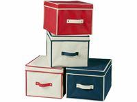 Resim Aufbewahrungsbehälter, 4 fach sortiert, ca. LBH 30x40x25 cm