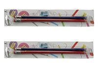 Picture of Bleistifte 2 Stück im Blister mit Anspitzer, im Hängeblister mit Euroloch