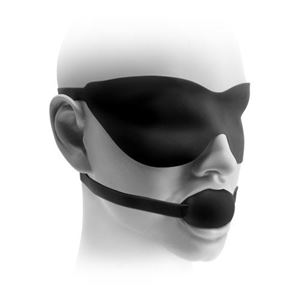 Picture of ?Fantasy Love? Mask & Ball Gag