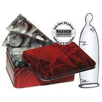 Resim 50 transparente dünne Kondome