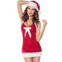 Resim 2-er Weihnachten Kleid - Naughty Santa