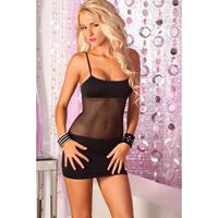 Picture of Adrenaline seamless net dress Black