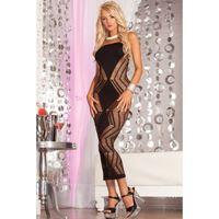 Picture of Zig-zag-zig seamless dress Black