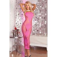 Picture of Zig-zag-zig Kleid Pink