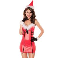 Picture of 3PC Christmas Dress Red