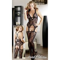 Resim 1-teiliges sexy Straps-Set - Basque