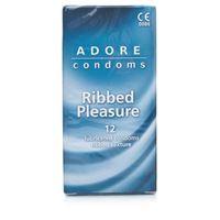 Resim Adore Kondome mit Riffeln 12 Stück