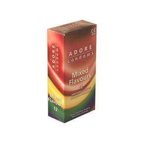 Picture of Adore Mixed Flavour Kondome 12 Stück