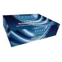 Imagen de Adore Kondome mit Riffeln 144 Stück