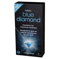 Picture of Blue Diamond Kondome für eine steifere Erektion