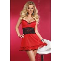 Resim  Kleidchen Callidora in Rot