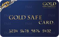Picture of Gold Safe Card
