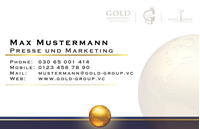 Picture of Geschäftspartner Visitenkarten