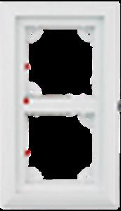 Image de 2er Rahmen, dunkelgrau