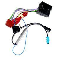 Picture of Antennen-Adapter mit Phantomspeisung für Audi / VW / Seat / Skoda / BMW / Renault / Citroen / Opel / Peugeot von Fakra Z-Buchse auf DIN 50
