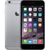 Resim Apple Iphone 6 Plus - Spacegrau - 16GB - (Bluetooth, 8MP Kamera, WLAN, GPS, 13,97 cm (5,5 Zoll) Touchscreen) - Smartphone