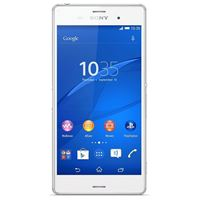 Picture of Sony Xperia Z3 D6603 - Farbe: white - (Bluetooth, 21MP Kamera, WLAN, GPS, 2,5 GHz Quadcore-CPU, Android 4.4.4 (KitKat), 13,21cm (5,2 Zoll) Touchscreen) - Smartphone