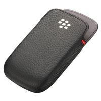 Resim ACC-48097-201 Echtlederholster BLACK - für  Blackberry 9220 Curve / 9310 Curve / 9320 Curve
