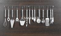 Изображение 13-tlg. Küchenleiste OLIVER aus Edelstahl