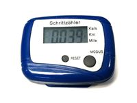 Resim Schrittzähler KM/Meilen (Blau)