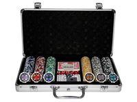 Bild von 300 Poker Chips mit Alukoffer (11,5 Gramm, Chips LASER)