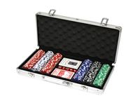 Immagine di 300 Poker Chips mit Alukoffer (11,5 Gramm, Chips DELUXE)