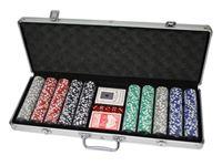Bild von 500 Poker Chips mit Alukoffer (11,5 Gramm)