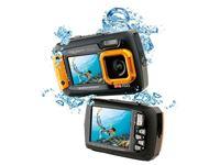 Resim Easypix Aquapix W1400 Active Unterwasserkamera (Orange)