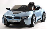 "Resim Kinderfahrzeug - Elektro Auto - ""BMW i8 - iVision"" - lizenziert mit 2x 12V Motoren- blau"