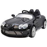 """Obrazek Kinderfahrzeug - Elektro Auto """"Mercedes SLR McLaren"""" - lizenziert - 12V7AH Akku,2 Motoren- 2,4Ghz Fernsteuerung, MP3- schwarz"""