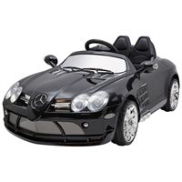 "Resim Kinderfahrzeug - Elektro Auto ""Mercedes SLR McLaren"" - lizenziert - 12V7AH Akku,2 Motoren- 2,4Ghz Fernsteuerung, MP3- schwarz"