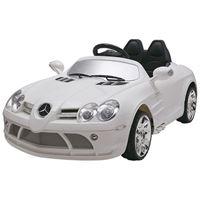 "Resim Kinderfahrzeug - Elektro Auto ""Mercedes SLR McLaren"" - lizenziert - 12V7AH Akku,2 Motoren- 2,4Ghz Fernsteuerung, MP3- weiss"