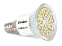 Picture of Camelion LED Sparlampe 48-LED SMD 3 Watt E14 (Warm weiß 2800K)