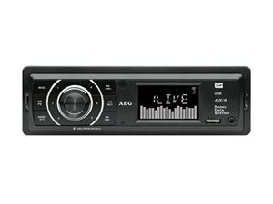 Picture of AEG Stereo MP3 Autoradio mit USB und Kartenleser AR 4027 (schwarz)