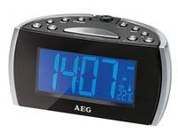 Resim AEG Projektionsuhrenradio MRC 4119 P N Schwarz