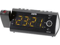 Resim AEG Projektionsuhrenradio mit Infrarotsensor MRC 4121 P schwarz