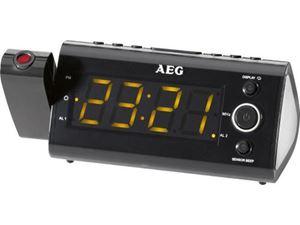 Picture of AEG Projektionsuhrenradio mit Infrarotsensor MRC 4121 P schwarz