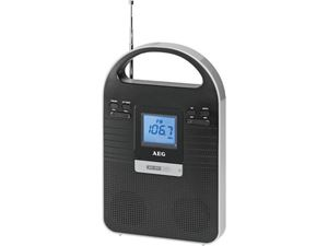 Picture of AEG Multimedia Radio MMR 4128 Schwarz/ Silber