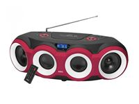 Imagen de AEG Stereo Radio Soundbox CD/MP3/BT SR 4364 BT Schwarz/Rot