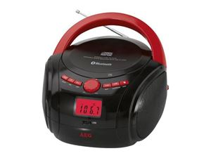 Picture of AEG Bluetooth CD-Radio SR 4348 BT Schwarz/Rot