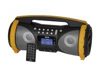 Resim AEG Stereo Radio Soundbox AUS/BT/USB SR 4367 BT Grau/Gelb